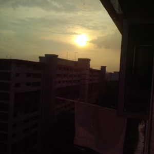 MSR_Sunset from Ang Mo Kio 2