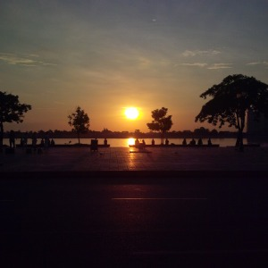 MSRmegs_Sunrise in Cambodia_Phnom Penh